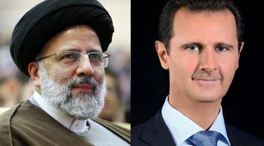 الأسد مهنئا رئيسي بالفوز.. نتطلع إلى تعزيز العلاقات الراسخة مع إيران