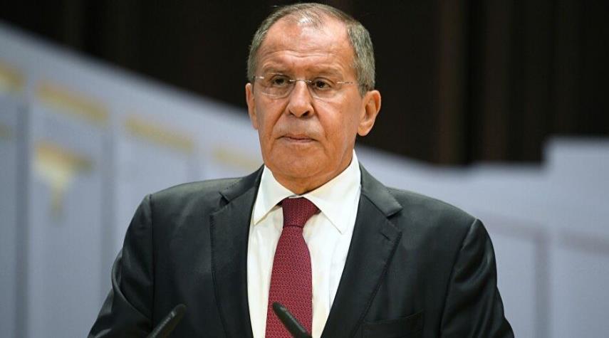 لافروف: على الغرب الاعتراف بمسؤوليته عن تردي الوضع الإنساني بسوريا