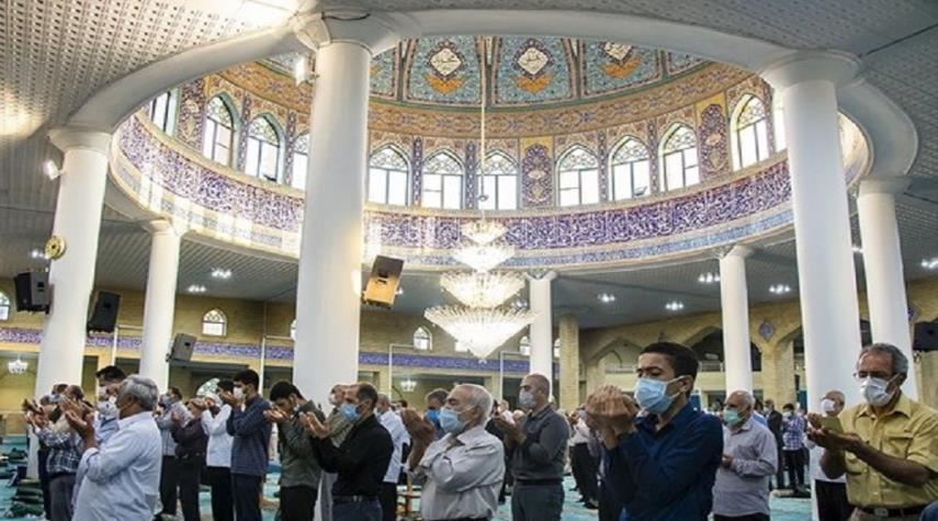 اقامة صلاة عيد الاضحى في مختلف المدن الايرانية+ صور