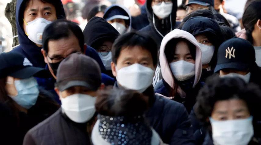 كوريا الجنوبية تسجل اعلى زيادة يومية لحالات كورونا