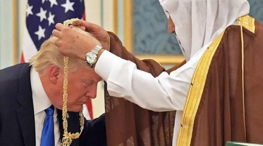 هدایای گرانبهای سعودیها به ترامپ تقلبی از آب درآمد!