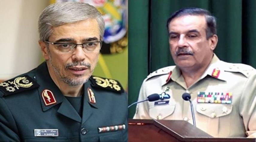 رایزنی مقامات نظامی ایران و پاکستان درباره تقویت همکاریها