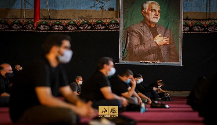 تقرير مصور عن إحياء مراسم عاشوراء الحسين في ظل تفشي كورونا في ايران