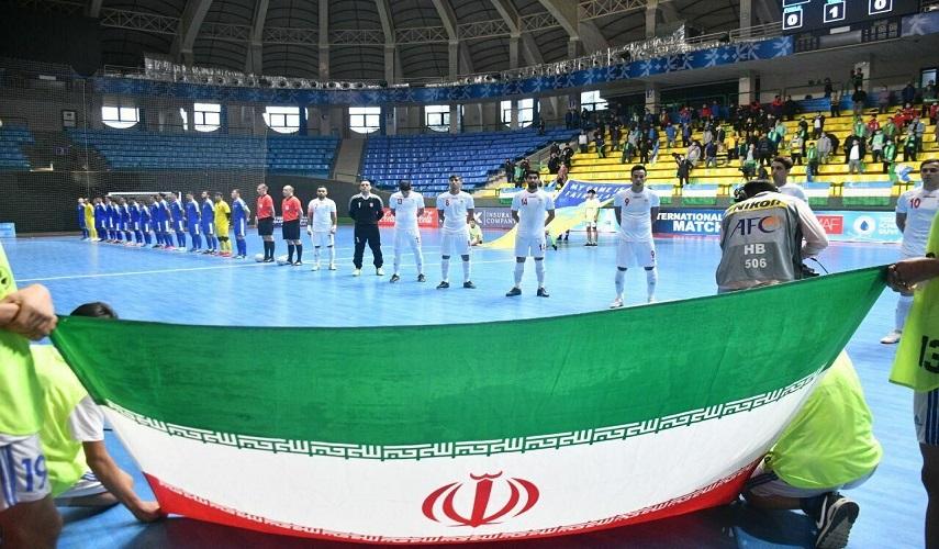 ايران تفوز على مضيف الكأس العالمي لكرة الصالات