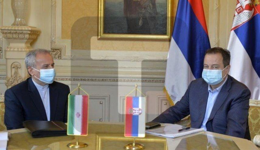 رئيس البرلمان الصربي يشارك في مراسم اداء اليمين من قبل الرئيس الايراني المنتخب