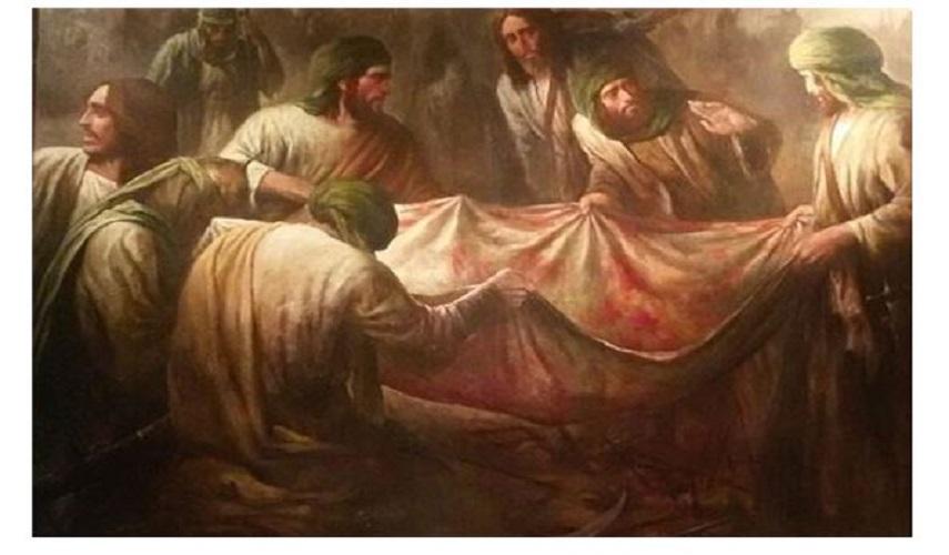دفن الإمام الحسين (عليه السلام) وباقي شهداء الطف