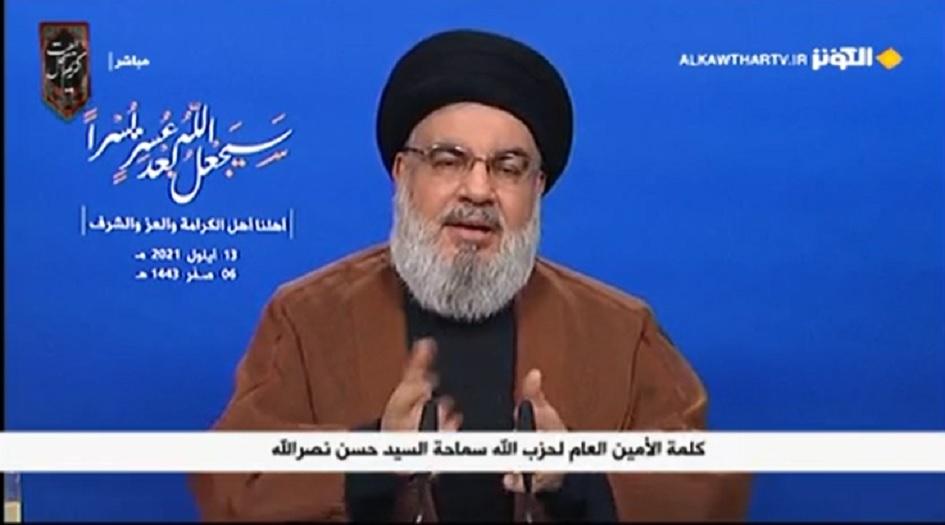 السيد نصرالله: المحروقات الإيرانية وصلت إلى سوريا وتصل إلى لبنان قريبا