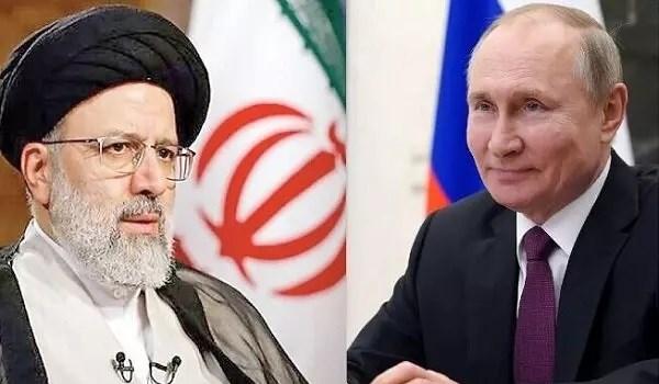 آية الله رئيسي لبوتين: نتابع تنمية وتعميق التعاون مع روسيا في جميع المجالات