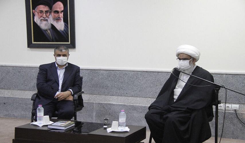 رئيس منظمة الطاقة الذرية: تطوير الانشطة النووية بتصاميم ايرانية