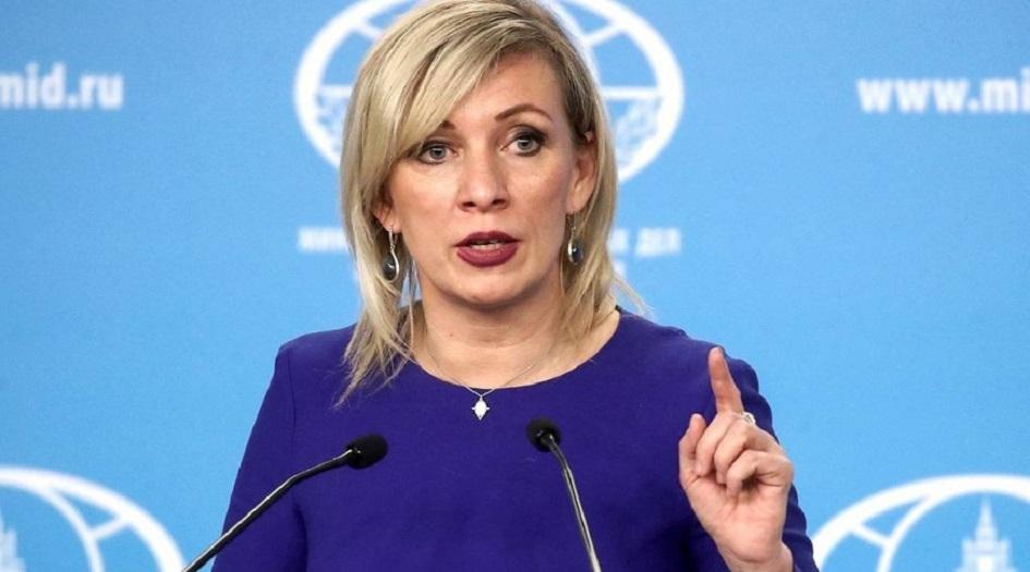 زاخاروفا تعلق على الهجمات الاعلامية الغربية ضد روسيا