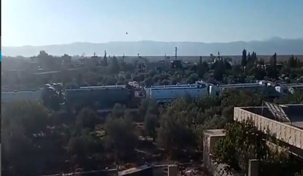 أولى الصهاريج المحملة بالمازوت الإيراني تدخل الأراضي اللبنانية