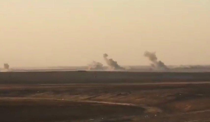 قصف تركي يطال قرية الدبس شمال شرقي سوريا