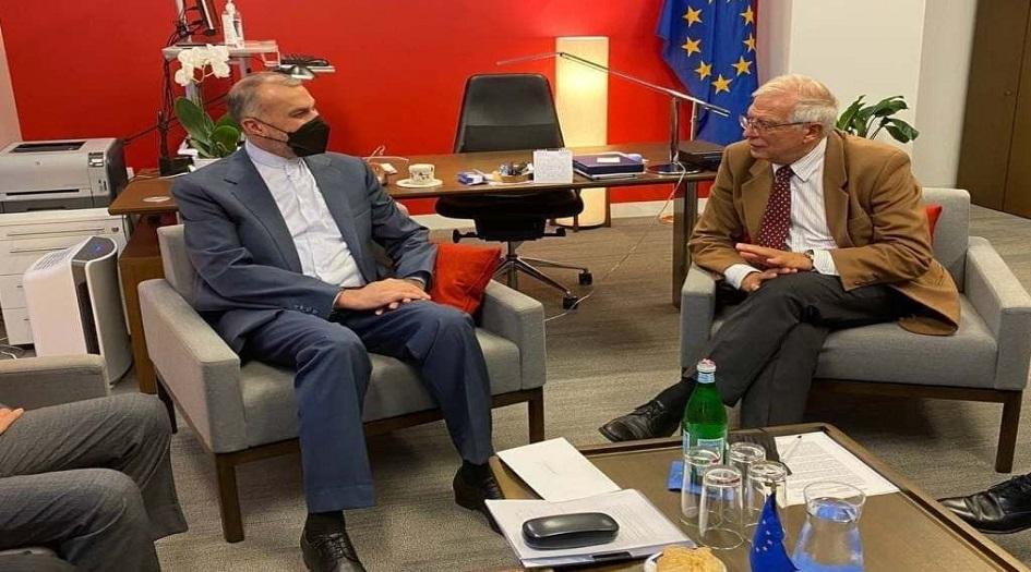 وزير الخارجية الايراني  يؤكد أن الحكومة الجديدة ستستأنف محادثات فيينا