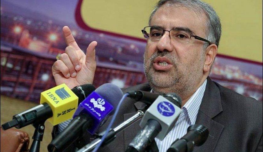 وزير النفط الايراني: استثمار 10 مليارات دولار في حقل آذر مهران النفطي