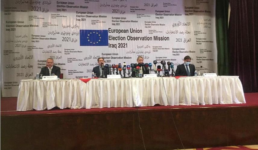 بعثة الاتحاد الاوروبي: سرية التصويت لم تكن آمنة في الانتخابات العراقية