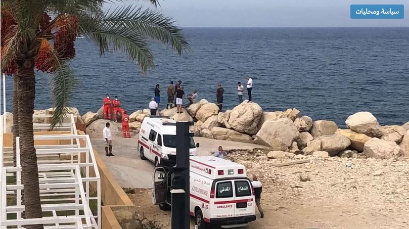 سقوط طائرة لبنانية صغيرة في البحر