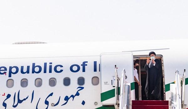 اية الله رئيسي يبدا جولة في محافظة فارس