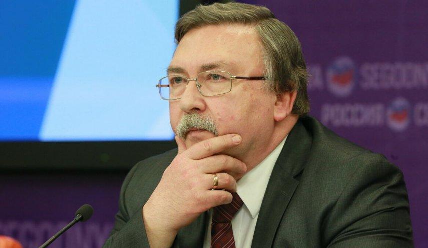 اوليانوف: استئناف المفاوضات النووية في فيينا لا يدعو للتشاؤم